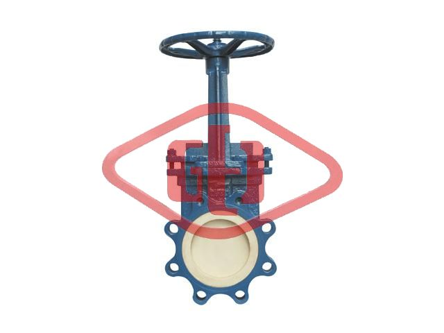 Ceramic Plug shaped Manual knife gate valve